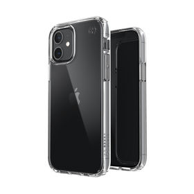 Speck Presidio Perfect-Clear Etui Ochronne do iPhone 12 Pro / iPhone 12 z Powłoką Microban (Clear)