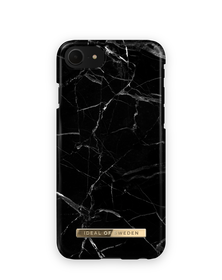 iDeal of Sweden Fashion Etui Obudowa do iPhone SE (2020) / iPhone iPhone 8 / iPhone 7 / iPhone 6s / iPhone 6 (Black Marble)