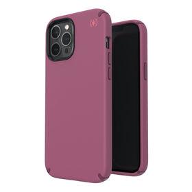 Speck Presidio2 Pro Etui Ochronne do iPhone 12 Pro Max z Powłoką Microban (Lush Burgundy/Azalea Burgundy/Royal Pink)