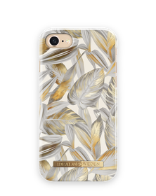 iDeal Of Sweden Fashion Case Etui Obudowa do iPhone 8 / iPhone 7 / iPhone 6S / iPhone 6 (Platinium Leaves)