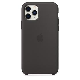 Apple Silicone Case Oryginalne Silikonowe Etui do iPhone 11 Pro (Czarny)