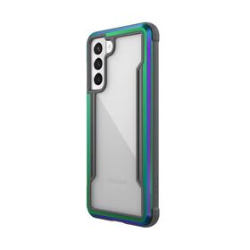 Raptic Shield Etui Aluminiowe do Samsung Galaxy S21 (Antimicrobial Protection) (Iridescent)