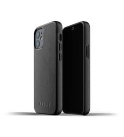 Mujjo Full Leather Case Etui Skórzane do iPhone 12 Mini (Black)