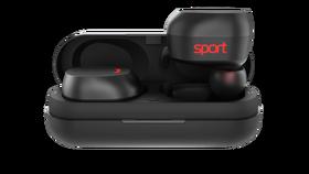 Elari NanoPods Sport Wodoszczelne Douszne Słuchawki Bluetooth (Black)
