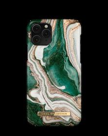 iDeal of Sweden Fashion Etui Obudowa do iPhone 11 Pro / iPhone Xs / iPhone X (Golden Jade Marble)