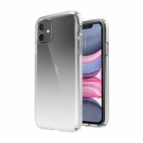 Speck Presidio Perfect-Clear + Ombre Etui Ochronne do iPhone 11 z Powłoką Microban (Clear/Atmosphere Fade)