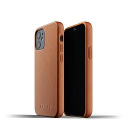 Mujjo Full Leather Case Etui Skórzane do iPhone 12 Mini (Tan)