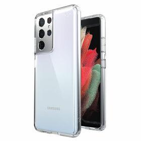 Speck Presidio Perfect-Clear Etui Ochronne do Samsung Galaxy S21 Ultra z Powłoką Microban (Clear)