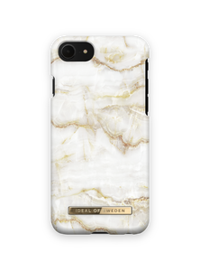 iDeal of Sweden Fashion Etui Obudowa do iPhone SE (2020) / iPhone iPhone 8 / iPhone 7 / iPhone 6s / iPhone 6 (Golden Pearl Marble)