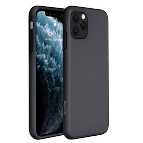 Crong Color Cover Etui Obudowa do iPhone 11 Pro Max (Black)