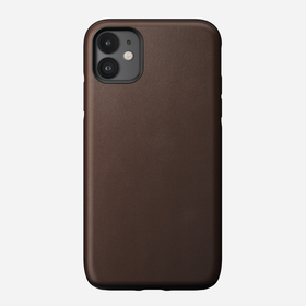 Nomad Rugged Case Skórzane Etui do iPhone 11 (Rustic Brown)