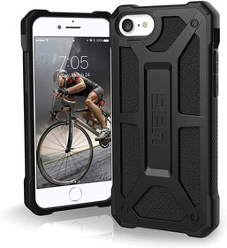 Urban Armor Gear Monarch Etui Pancerne do iPhone SE (2020) / iPhone 8 / iPhone 7 (Black)