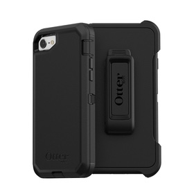OtterBox Defender Etui Pancerne z Klipsem do iPhone SE (2020) / iPhone 8 / iPhone 7 (Black)