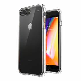 Speck Presidio Perfect-Clear Etui Ochronne do iPhone 8 Plus / iPhone 7 Plus z Powłoką Microban (Clear)