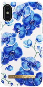 iDeal of Sweden Fashion Case Etui Obudowa do iPhone Xs / iPhone X (Baby Blue Orchids)