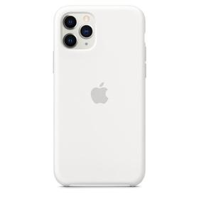 Apple Silicone Case Oryginalne Silikonowe Etui do iPhone 11 Pro (Biały)