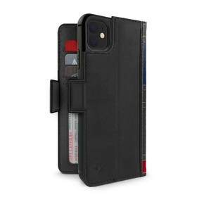 Twelve South BookBook Etui Skórzane z Klapką do iPhone 11 (Black)