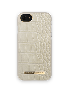iDeal of Sweden Atelier Etui Obudowa do iPhone SE (2020) / iPhone 8 / iPhone 7 / iPhone 6s / iPhone 6 (Caramel Croco)