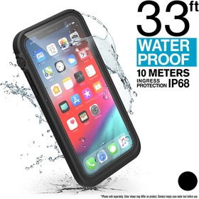 Catalyst Waterproof Case Etui Wodoszczelne (IP-68 do 10 m głębokości) do iPhone Xs (Stealth Black)