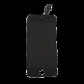 Wyświetlacz LCD z Ekranem Dotykowym do iPhone 5C (Czarny) (Premium High Quality)