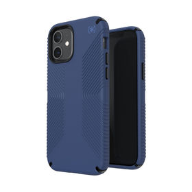 Speck Presidio2 Grip Etui Ochronne do iPhone 12 Pro / iPhone 12 z Powłoką Microban (Coastal Blue/Black/Storm Blue)