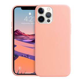 Crong Color Cover Etui Obudowa do iPhone 12 Pro Max (Rose Pink)