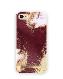 iDeal of Sweden Fashion Case Etui Obudowa do iPhone 8 / iPhone 7 / iPhone 6S / iPhone 6 (Golden Burgundy Marble)