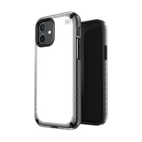 Speck Presidio2 Armor Cloud Etui Ochronne do iPhone 12 Pro / iPhone 12 z Powłoką Microban (Clear/Black/White)