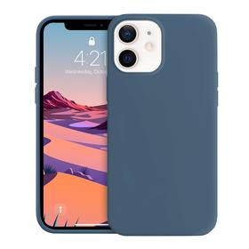 Crong Color Cover Etui Obudowa do iPhone 12 Mini (Granatowy)