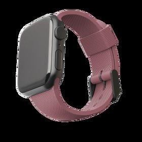 Urban Armor Gear [U] Dot Silikonowy Pasek do Apple Watch (44 mm) / Apple Watch (42 mm) (Dusty Rose)