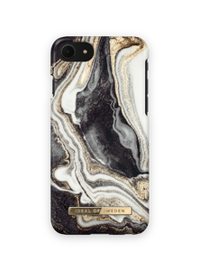 iDeal of Sweden Fashion Etui Obudowa do iPhone SE (2020) / iPhone iPhone 8 / iPhone 7 / iPhone 6s / iPhone 6 (Golden Ash Marble)