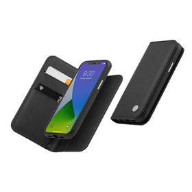 Moshi Overture Etui Portfel 3w1 do iPhone 12 Pro / iPhone 12 (Jet Black)