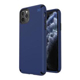 Speck Presidio2 Pro Etui Ochronne do iPhone 11 Pro Max z Powłoką Microban (Coastal Blue/Black/Storm Grey)