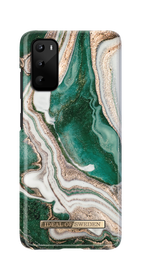 iDeal of Sweden Fashion Case Etui Obudowa do Samsung Galaxy S20 (Golden Jade Marble)