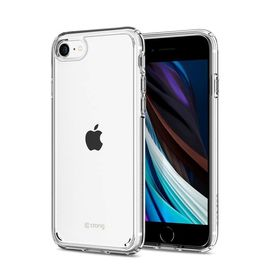 Crong Crystal Shield Cover Etui Obudowa do iPhone SE (2020) / iPhone 8 / iPhone 7 (Clear)