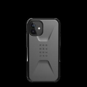 Urban Armor Gear Civilian Etui Pancerne do iPhone 12 Mini (Silver)