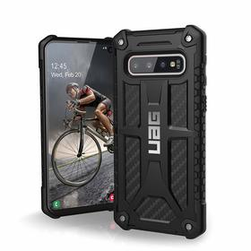 Urban Armor Gear Monarch Etui Pancerne do Samsung Galaxy S10 (Carbon Fiber)