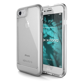 (EOL) X-Doria EverVue Etui Obudowa do iPhone 8 / 7 (Silver)