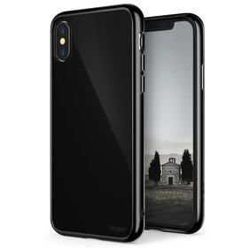 (EOL) Ringke Fusion Etui Obudowa do iPhone Xs / X (Shadow Black)