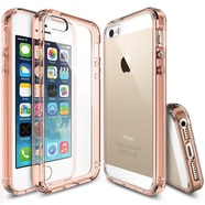 Ringke Fusion Etui Obudowa iPhone SE / 5S / 5 (Rose Gold Crystal)