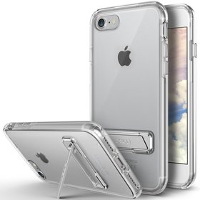 Obliq Naked Shield Kickstand Etui z Podstawką do iPhone 8 / 7 (Clear)