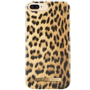 IDEAL FASHION CASE ETUI OBUDOWA IPHONE 8 PLUS / 7 PLUS / 6S PLUS / 6 PLUS (WILD LEOPARD)