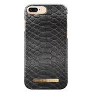 IDEAL FASHION CASE ETUI OBUDOWA IPHONE 8 PLUS / 7 PLUS / 6S PLUS / 6 PLUS (BLACK REPTILE)