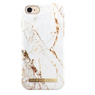IDEAL FASHION CASE ETUI OBUDOWA IPHONE 8 / 7 / 6S / 6 (CARRARA GOLD)