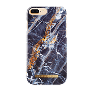IDEAL FASHION CASE ETUI OBUDOWA IPHONE 8 PLUS / 7 PLUS / 6S PLUS / 6 PLUS (MIDNIGHT BLUE MARBLE)