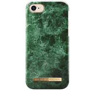 IDEAL FASHION CASE ETUI OBUDOWA IPHONE 8 / 7 / 6S / 6 (GREEN MARBLE)