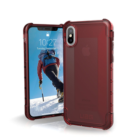 Urban Armor Gear UAG Plyo Etui Pancerne do iPhone Xs / X (Crimson)