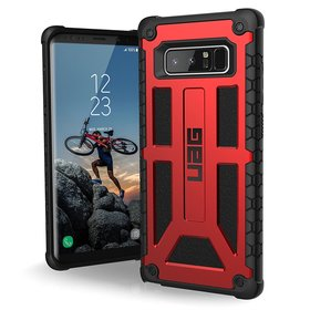 Urban Armor Gear UAG Monarch Etui Pancerne do Samsung Galaxy Note 8 (Crimson)
