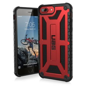 Urban Armor Gear UAG Monarch Etui Pancerne do iPhone 8 Plus / 7 Plus / 6S Plus / 6 Plus (Crimson)