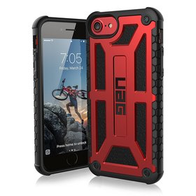 Urban Armor Gear UAG Monarch Etui Pancerne do iPhone 8 / 7 / 6S / 6 (Crimson)